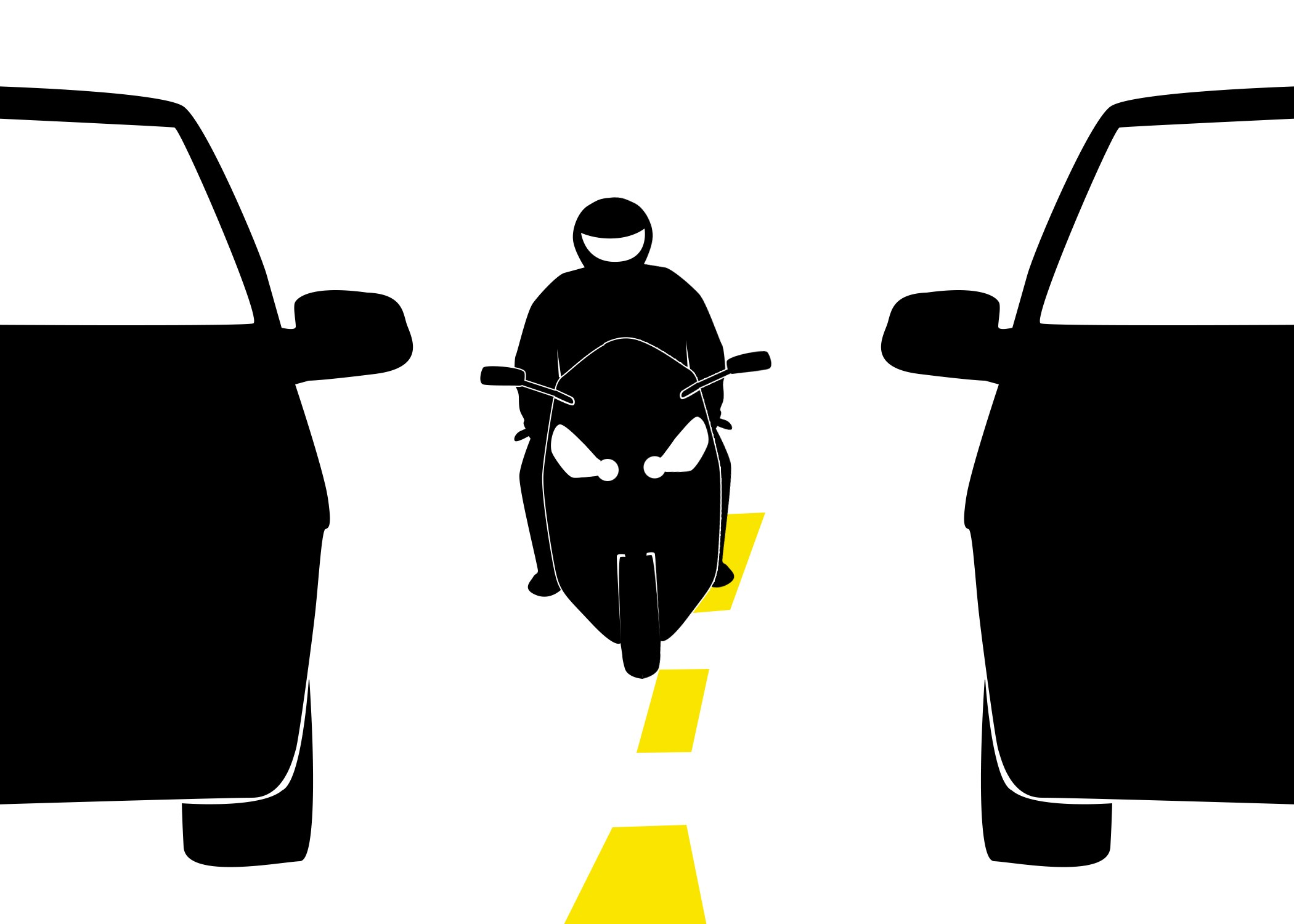 Can Lane Splitting Prevent Motorcycle Accident Injuries?